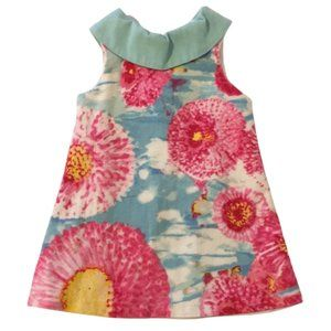 3/$25 Marmellata 60's Style Floral Dress Girls 2T